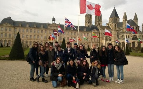 Studenti Liceo Livi in Francia