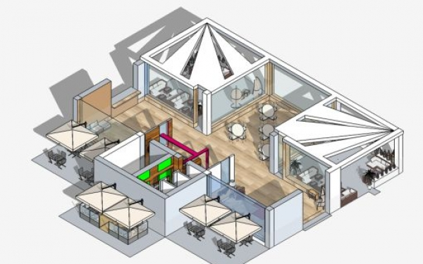 Progetto del Laboratorio di Architettura del Liceo Artistico Umberto Brunelleschi di Montemurlo