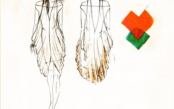 Studio modello del Laboratorio di Moda e Costume del Liceo Artistico Umberto Brunelleschi di Montemurlo