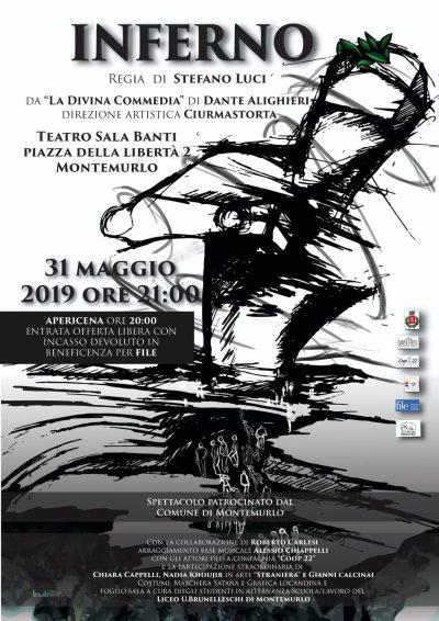 """adatto a uomini/donne prestazione affidabile design di qualità Inferno"""", spettacolo teatrale alla Sala Banti – Scuola ..."""