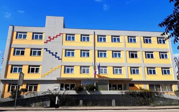 Ingresso del Liceo Scientifico-Linguistico Carlo Livi di Prato