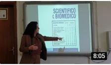 """""""Presentazione Liceo Scientifico Prof.ssa Fagioli"""" (video)"""
